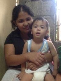 Aiden, a2 year old that never walked, was healed.